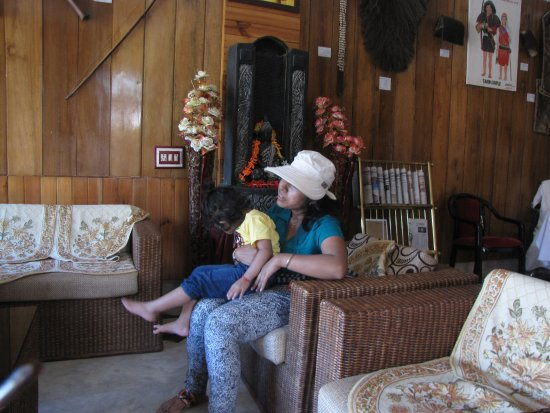 Daporijo, Indien: Reception lounge