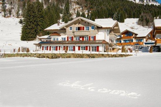 Balderschwang, Alemania: Das Haus im Winter