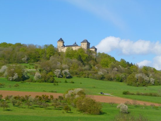Chateau de Malbrouck: Beautiful chateau in a picturesque landscape