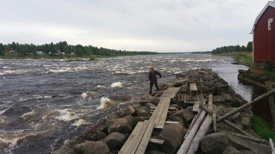 Haparanda, Svezia: Kukkolaforsen juli 2016