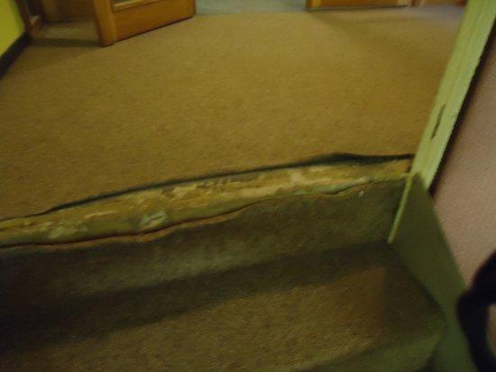 Henrietta Hotel: farlig trappe