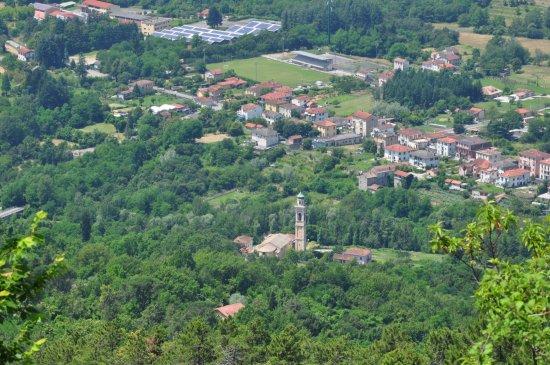 Sesta Godano visto dal Castello di Godano
