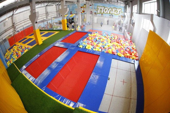 Trampoline Center Polyot