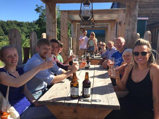 Longhope, UK: Brewery Tour