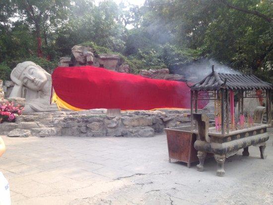 Jinan, China: Будда в нирване