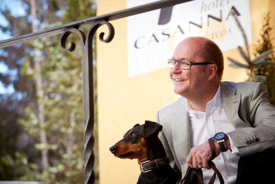 Hotel Casanna: Gastgeber Philippe Rusch