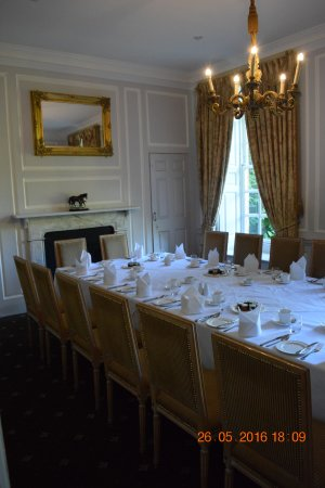 Hintlesham, UK: Private Dining Room