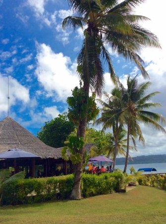 Aore Island Resort: Nakamal for dining and relaxing