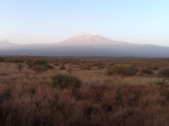 Satao Elerai: View of Mount Kilimanjaro from Tent 1