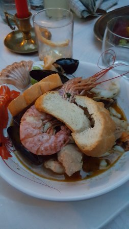 Taverna dei Capitani: Fish soup - yummy but small