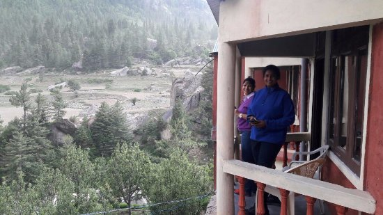 Hotel Rupin River View: Balcony