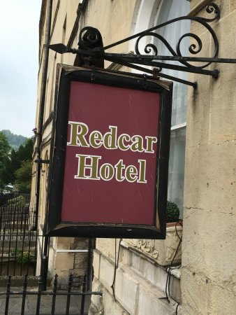 Redcar Hotel: First impression sadly reflects what's in store.