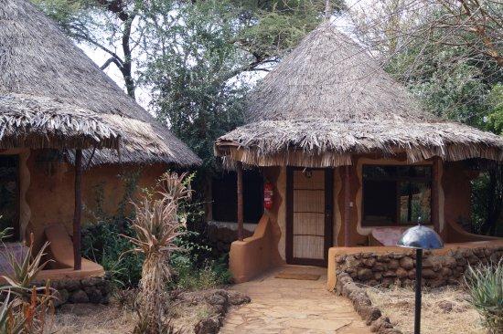 Amboseli Sopa Lodge: Our hut