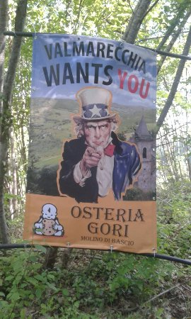 Pennabilli, Italië: Osteria Gori