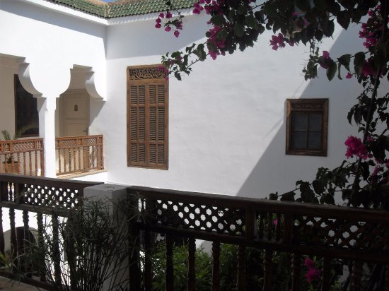 Riad Alma: View from one of the balconies