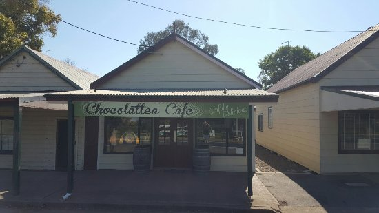 Aberdeen, أستراليا: Chocolattea Cafe