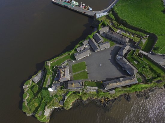 New Ross, Ireland: Duncannon Fort Aerial View