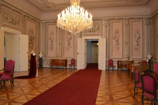 Litomysl, Tschechien: Pałacowe wnętrza.