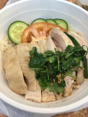 Strathfield, Αυστραλία: hainan chicken rice