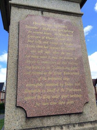 Civil War skirmish memorial