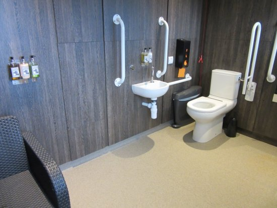 West Ashling, UK: Disabled facilites - brilliant!