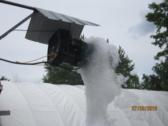 Northumberland, Pensilvania: foam pit