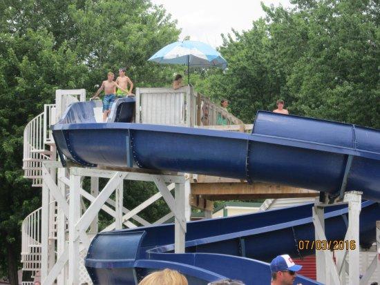 Northumberland, PA: water slide