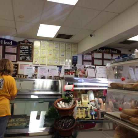 Poughquag, NY: View of counter