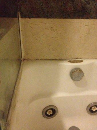 Hotel Parlamento: Particolare vasca/doccia bagno