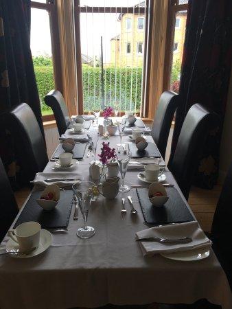 Shiloh Bed & Breakfast: Sala della colazione. I proprietari fanno il pane in casa e le loro uova sono davvero buonissime