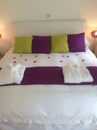 Barcaldine, UK: Comfy bed!