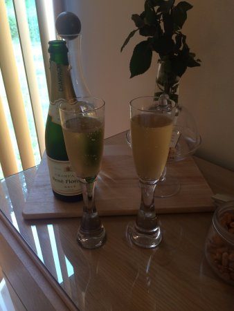Barcaldine, UK: Champagne package