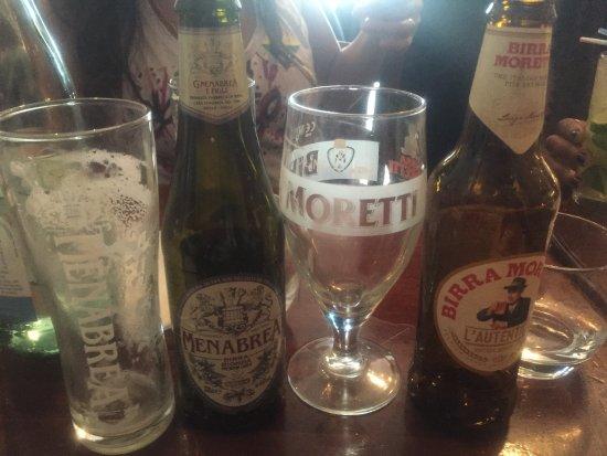 Sartori : Great choice of cold Italian lager 🍻