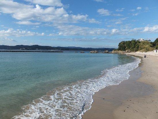 Goza Shirahama Beach : 白砂の美しい海岸