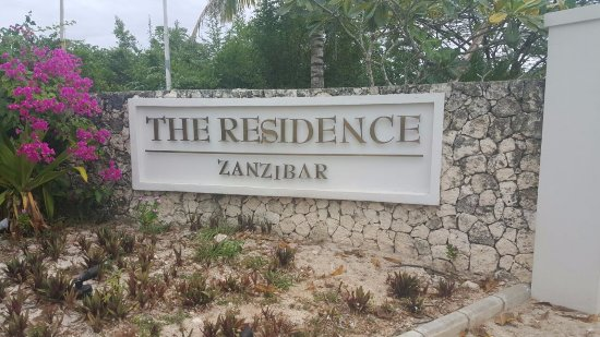 The Residence Zanzibar: Entrance