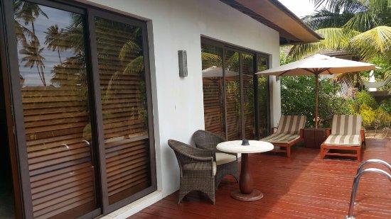 The Residence Zanzibar: outside of the room