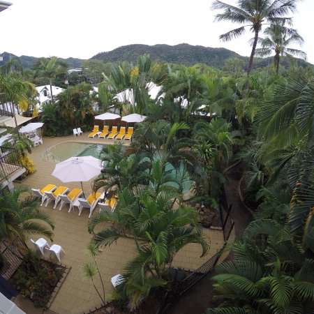 Island Palms Resort: View from our balcony