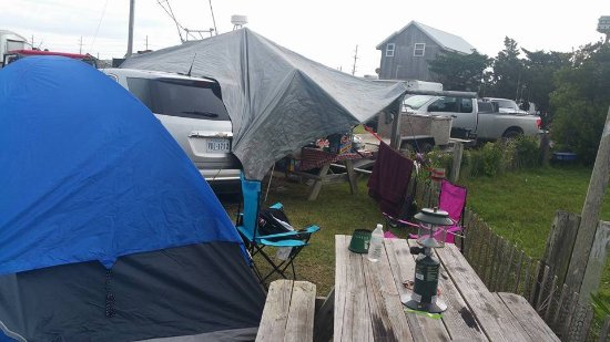 St. Clair Landing Family Campground: Camp site
