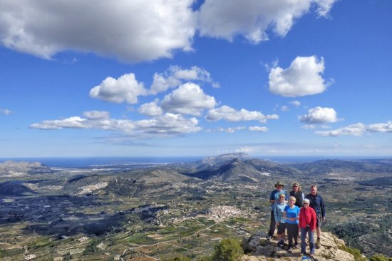 Parcent, Spanien: On top of the world!