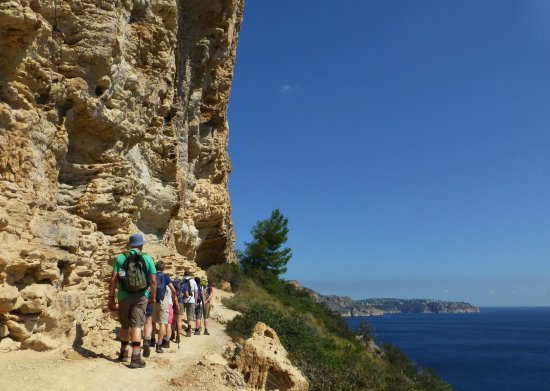 Parcent, España: A wonderful coastal walk at Moraira