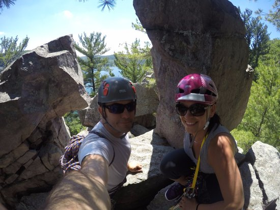 Devils Lake Climbing Guides : hangin out