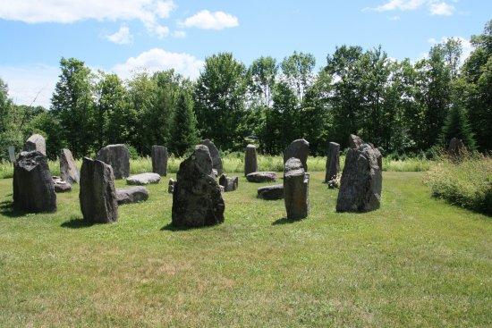 Walpole, NH: Standing stones