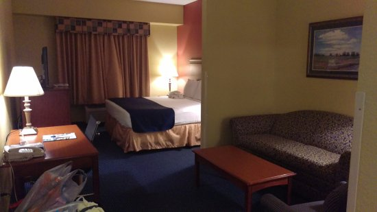 Best Western Executive Inn & Suites: Room 417