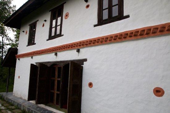 Namobuddha Resort: outside of large size house