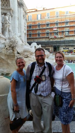 New Rome Free Tour: Trevi Fountain - we will be back! Mille Grazie, Andrea!