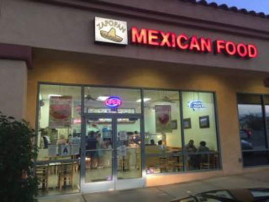 Zapopan Mexican Food Desert Hot Springs Restaurant