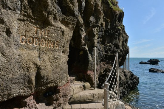 Whitehead, UK : The Gobbins Cliff Path