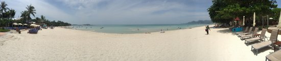 Chaweng strand: Perfect Beach. Best place for family is probably at King Prawn restaurant.