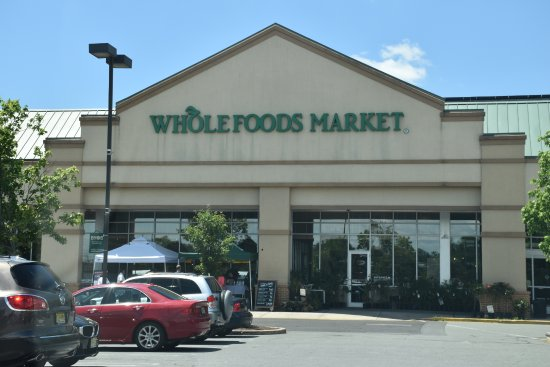 Princeton Junction, Nueva Jersey: Whole Foods :  Front entrance