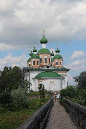 Olonets, Rusia: дорога к Собору